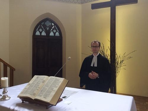Ks. Alaksej Frolou w naszej parafii -lipiec 2016
