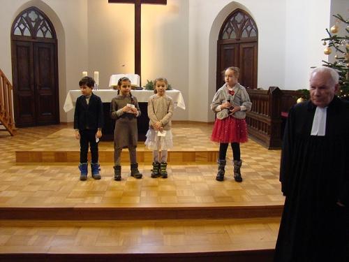 Nabożeństwo 17.12.2017 - Gwiazdka dla dzieci