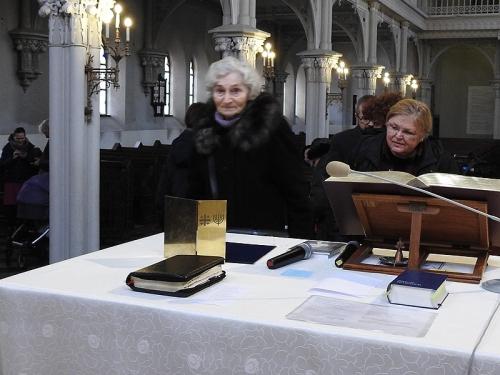 Nabożeństwo 21 stycznia 2018 r. połączone z wręczeniem nagrody ks. M. Jabłońskiemu od Polskiej Rady Chrześcijan i Żydów-10