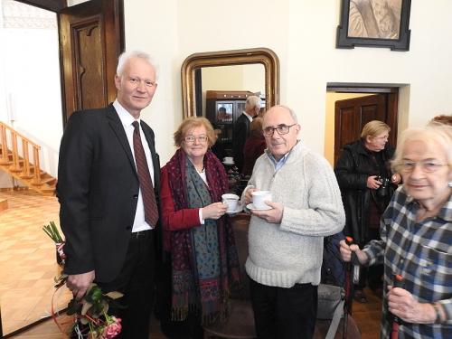 Nabożeństwo 21 stycznia 2018 r. połączone z wręczeniem nagrody ks. M. Jabłońskiemu od Polskiej Rady Chrześcijan i Żydów-13