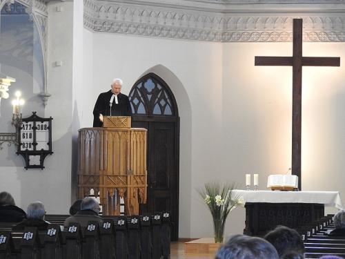 Nabożeństwo 21 stycznia 2018 r. połączone z wręczeniem nagrody ks. M. Jabłońskiemu od Polskiej Rady Chrześcijan i Żydów-4