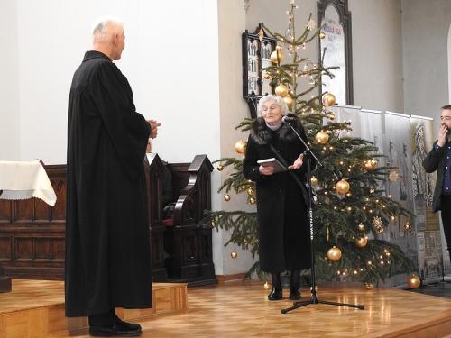 Nabożeństwo 21 stycznia 2018 r. połączone z wręczeniem nagrody ks. M. Jabłońskiemu od Polskiej Rady Chrześcijan i Żydów-5