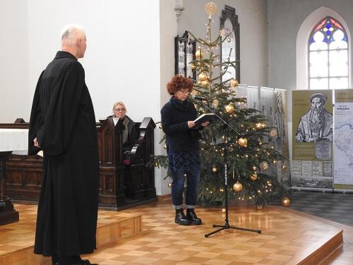 Nabożeństwo 21 stycznia 2018 r. połączone z wręczeniem nagrody ks. M. Jabłońskiemu od Polskiej Rady Chrześcijan i Żydów-6