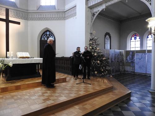 Nabożeństwo 21 stycznia 2018 r. połączone z wręczeniem nagrody ks. M. Jabłońskiemu od Polskiej Rady Chrześcijan i Żydów-7
