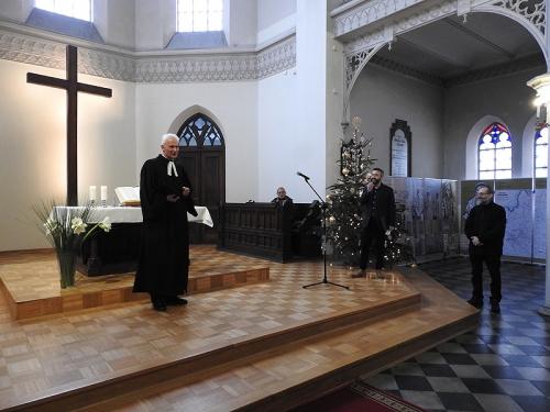 Nabożeństwo 21 stycznia 2018 r. połączone z wręczeniem nagrody ks. M. Jabłońskiemu od Polskiej Rady Chrześcijan i Żydów-8