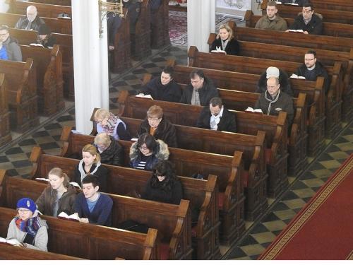 Nabożeństwo z Wieczerzą Pańską 7 stycznia 2017 r.-4