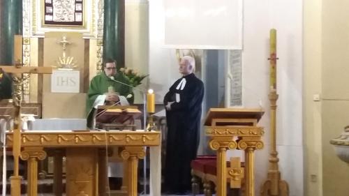 Nabożeństwo ekumeniczne w Słubicach; kolacja w Grzybowie (24.02.2019)-1