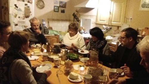Nabożeństwo ekumeniczne w Słubicach; kolacja w Grzybowie (24.02.2019)-2