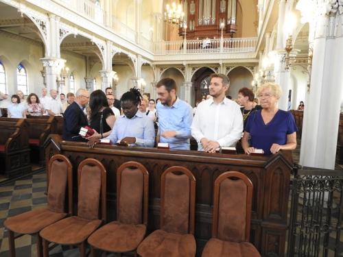Nowi członkowie zboru i chrzest-3