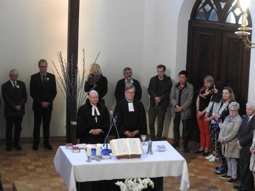 Wizyta przedstawicieli Lippische Landeskirche w Warszawie 19-22 kwietnia 2018-19