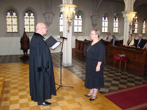 Wprowadzenie w służbę kaznodziei świeckiego Marty Borkowskiej-2