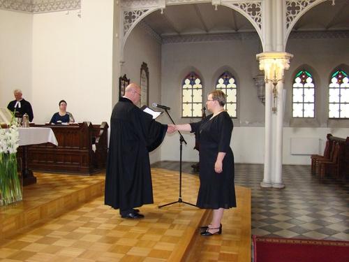 Wprowadzenie w służbę kaznodziei świeckiego Marty Borkowskiej-6
