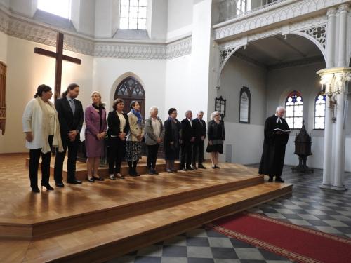 Wprowadzenie w urząd nowego Kolegium Kościelnego-5