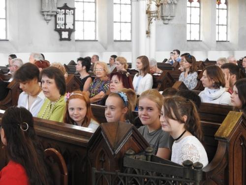 Zakończenie Roku Szkolnego Szkoły Parafialnej i chrzest dwojga dzieci - 17.06.2018 r.-4