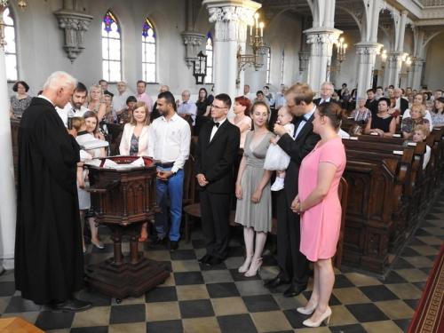 Zakończenie Roku Szkolnego Szkoły Parafialnej i chrzest dwojga dzieci - 17.06.2018 r.-5