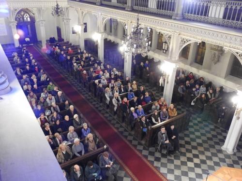 Buddyzm a chrześcijaństwo - spotkanie z M. Gretkowską, S. Obirkiem i A. Szostkiewiczem - 22-11-2019-6
